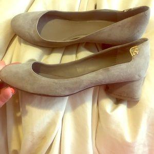 Barely worn Tori Butch block heel